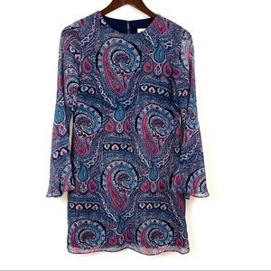 Highline Collective Paisley Bell Sleeve Dress